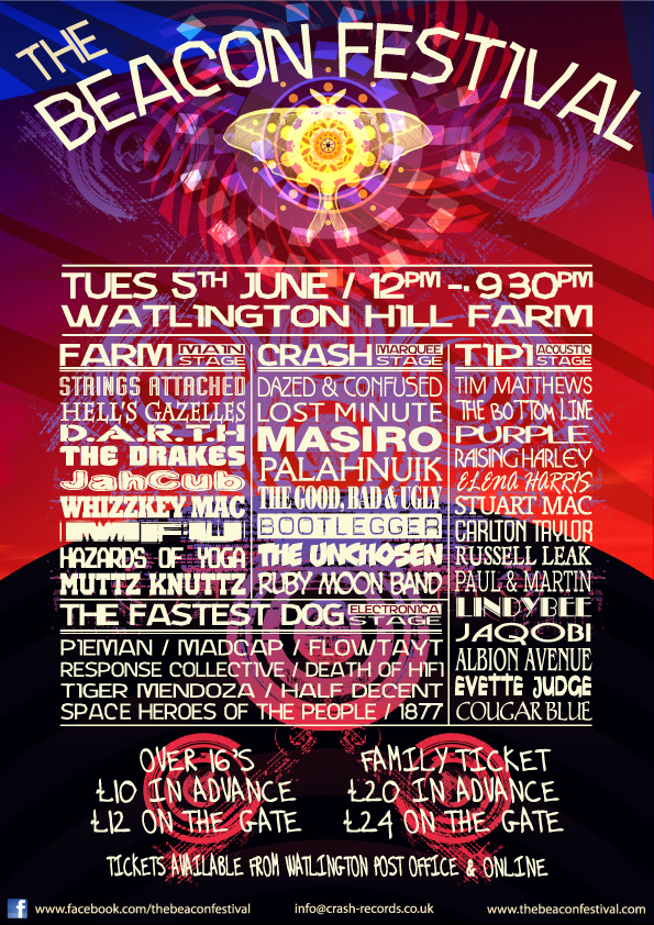 The Beacon Festival poster
